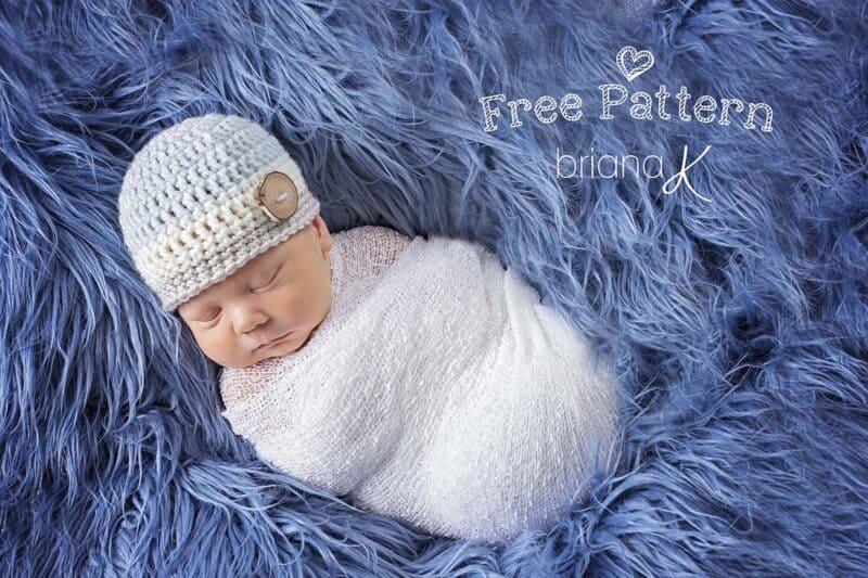 Easy Crochet Edward Beanie Smaller Image