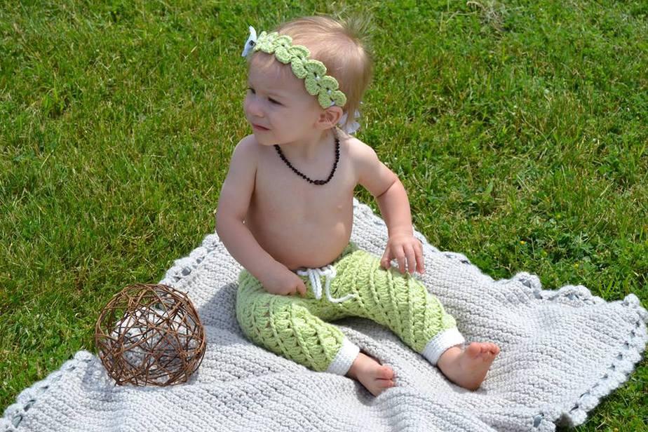 Swirl Crochet Pants or Shorts by Briana K Designs