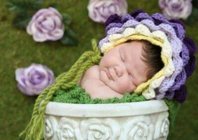 Flower Bonnet Hat
