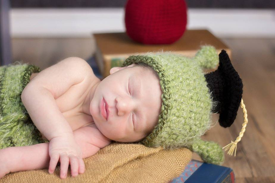 Bookworm Newborn Crochet Outfit by Briana K Crochet