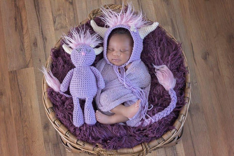 Monster Crochet Set by Briana K Designs