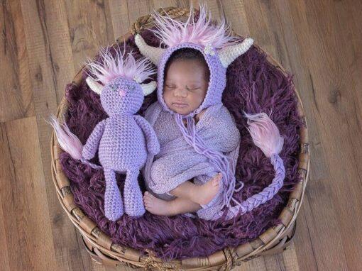 Monster Set Crochet