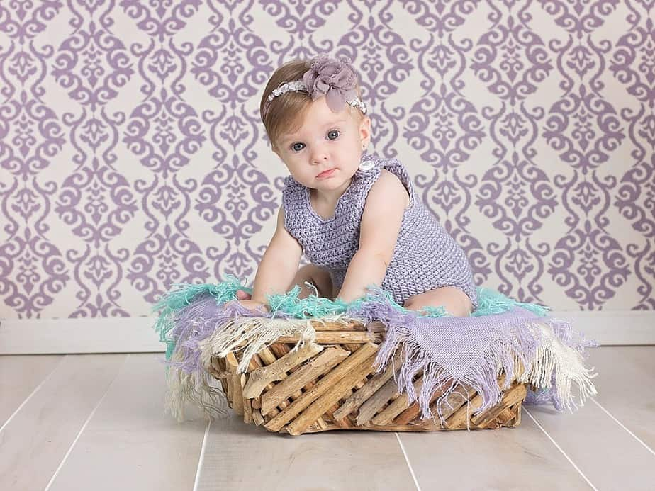 Simple Crochet Romper by Briana K Designs