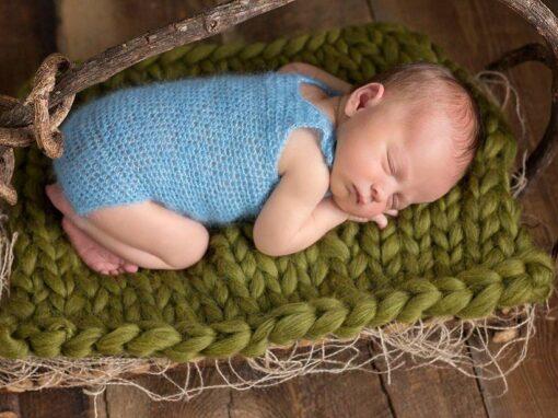 Delicate Crochet Onesie