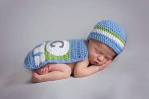 Superhero Baby Crochet Outfit by Briana K Designs