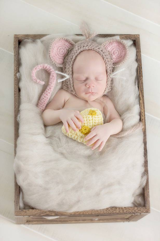 Little Mouse Crochet Set by Briana K Designs