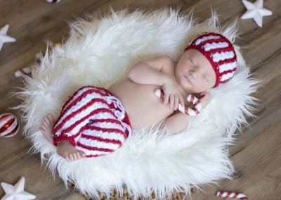 Candy Cane Hat & Pants by Briana K Designs