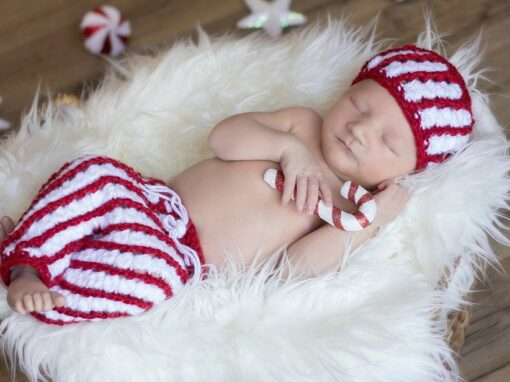 Candy Cane Hat and Pants