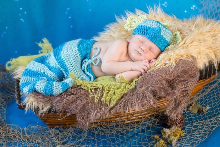 Seahorse Newborn Pattern by Briana K Designs