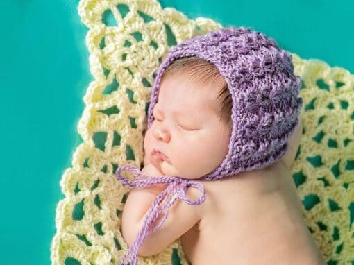 Adalicia Newborn Bonnet