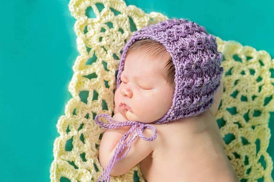 Adalicia Knit Newborn Bonnet by Briana K Designs