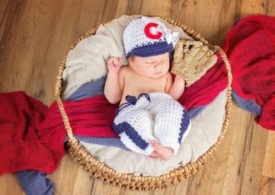 Newborn Baseball Outfit