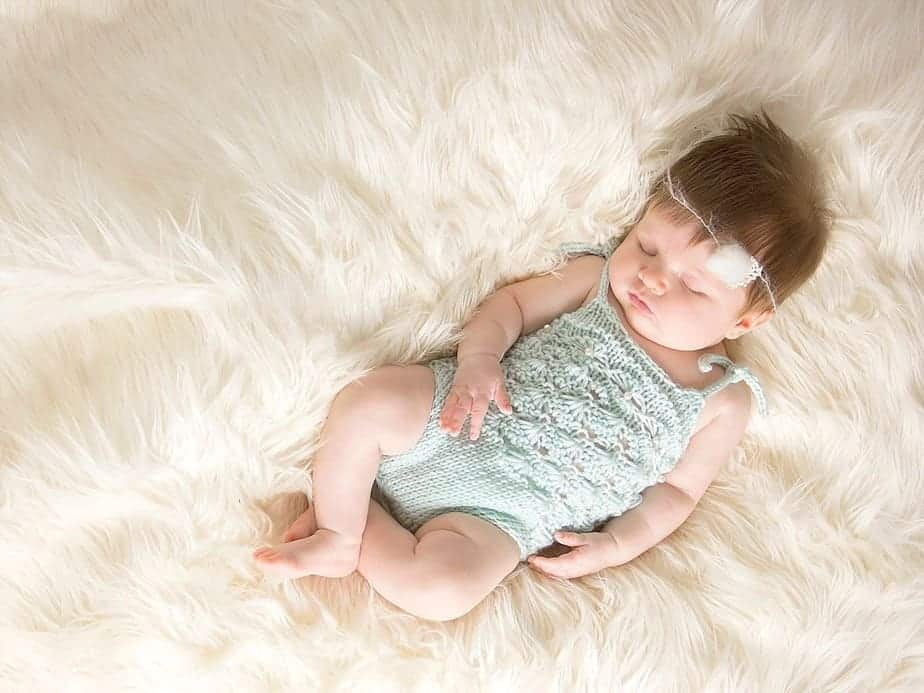 Knit Mermaid Maddie Romper by Briana K Designs