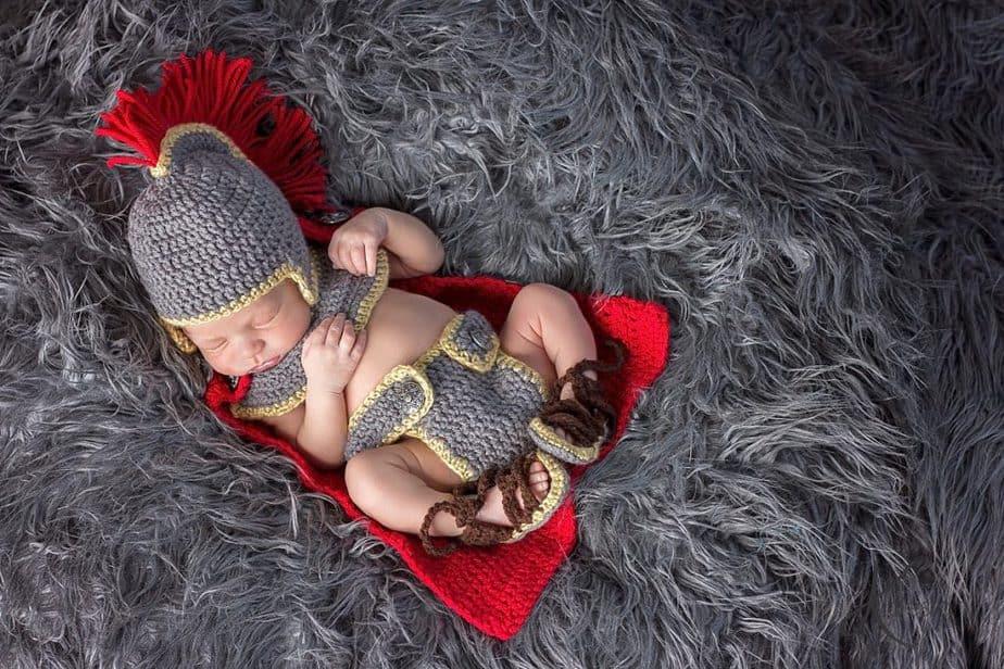 Gladiator/Roman/Greek/Spartan Warrior Crochet Outfit by Briana K Desings
