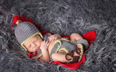 Baby Gladiator Crochet Outfit Pattern