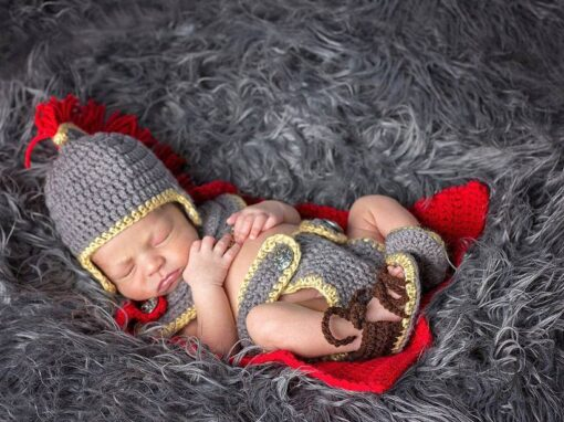 Newborn Gladiator/Roman/Greek/Spartan Warrior