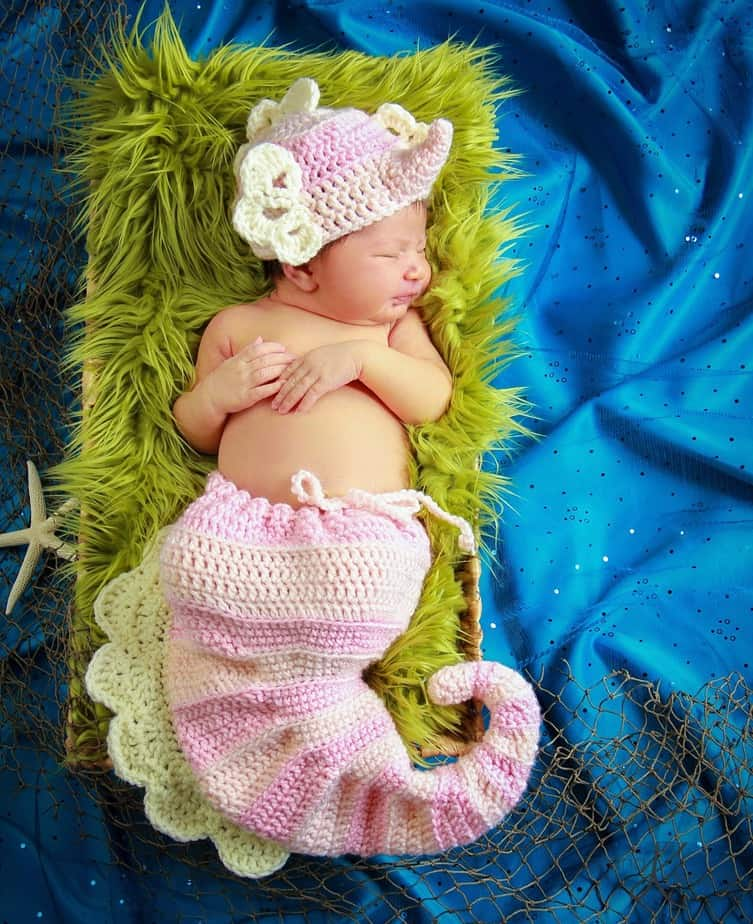 Seahorse Newborn Pattern by Briana K Designs