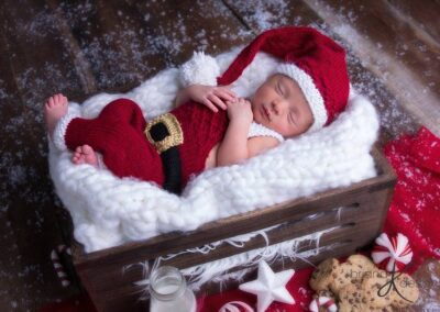 Santa Overall and Hat