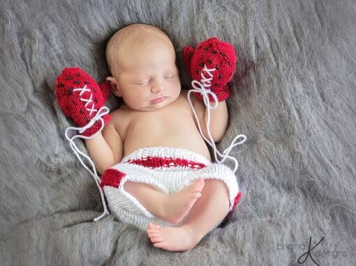 Newborn Boxer Knit