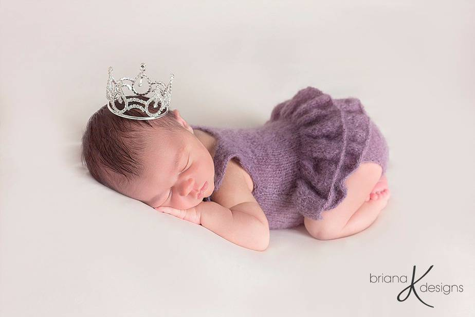 Delicate Knit Onesie by Briana K Designs