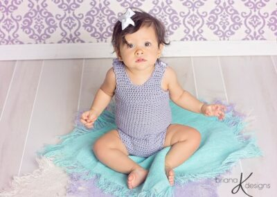 Simple Crochet Sitter Romper