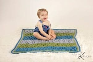 Vintage Crochet Blanket by Briana K Designs