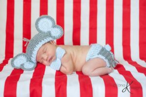 Elephant Crochet Hat and Diaper Cover by Briana K Designs