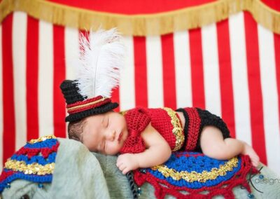 Newborn Circus Ringmaster