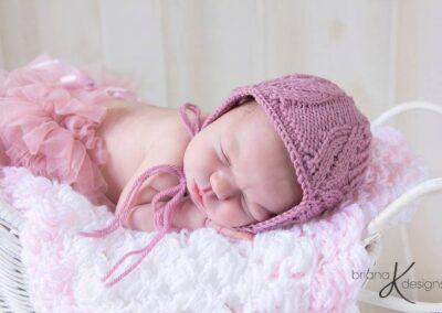 Tulip Bonnet Knit