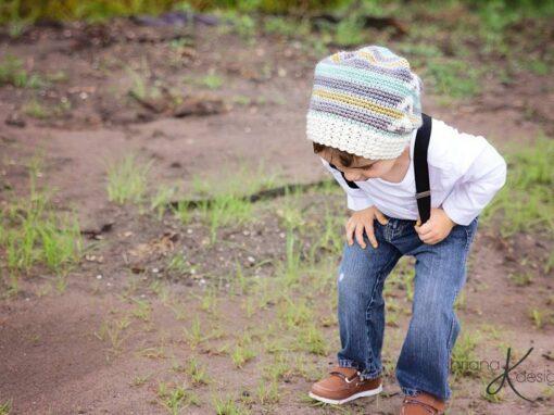 Arrow Slouchy Hat Crochet
