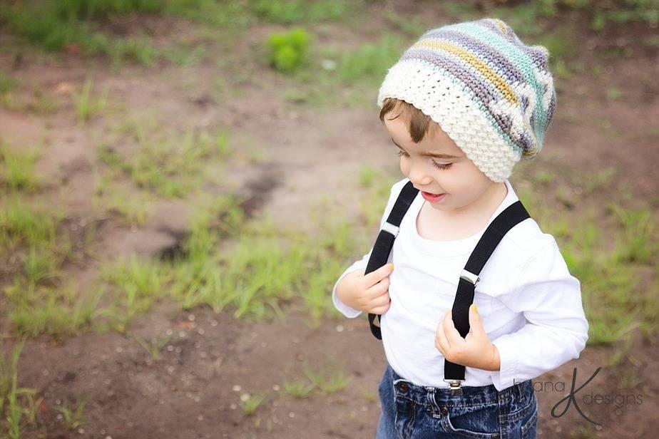 Arrow Slouchy Hat Crochet by Briana K Designs