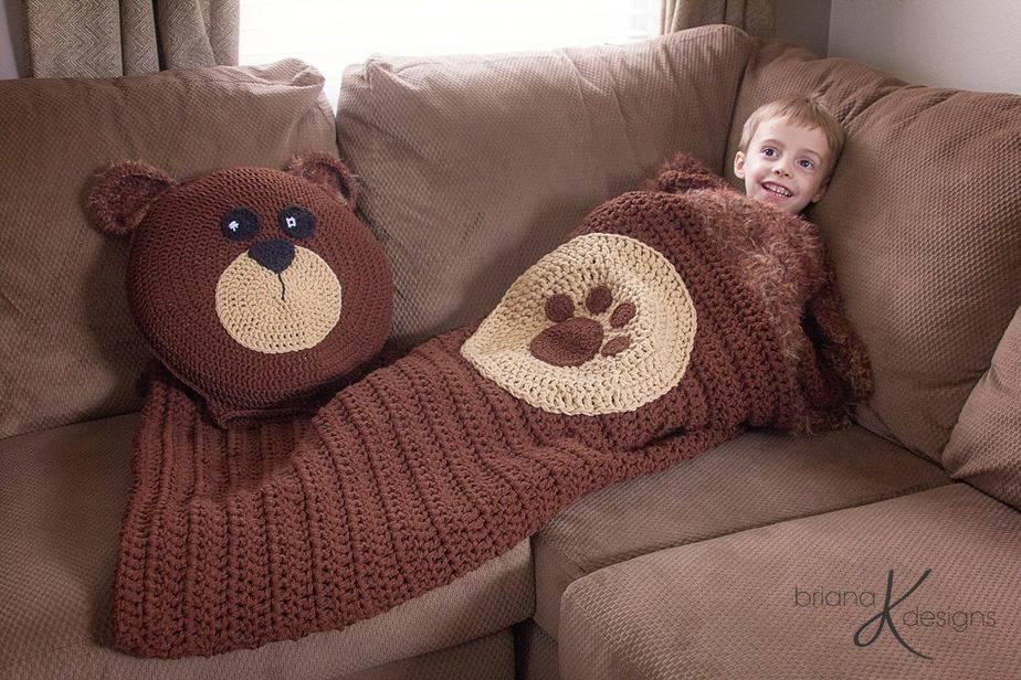 Teddy Bear Pillow Crochet Pattern PDF Instant Download by Softiez | Cojines  de ganchillo, Patrón de almohada de ganchillo, Almohada de ganchillo | 800x1200