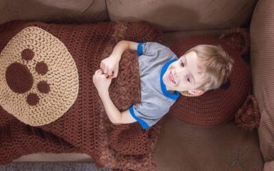 Bear Sleeping Bag Crochet