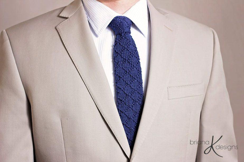 Bradford Knit Tie by Briana K Designs