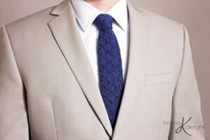 Bradford Knit Tie by Briana K Designs