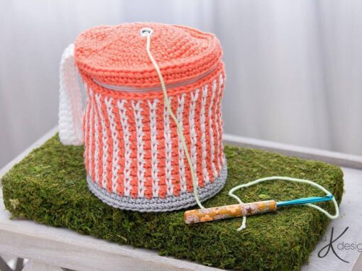 Cake Yarn Project Bag