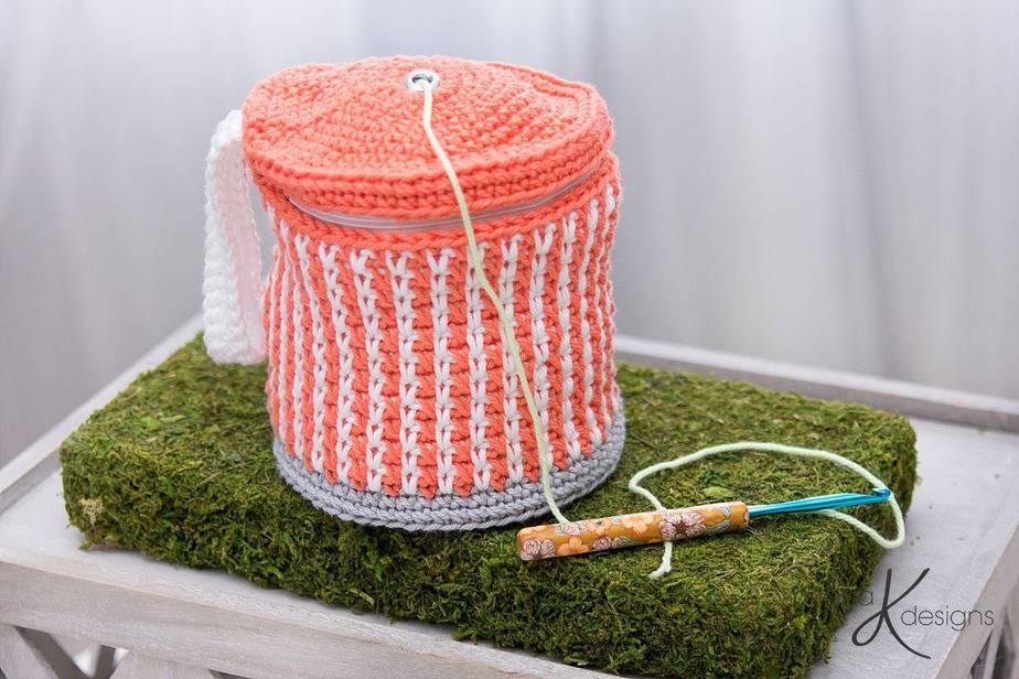 Cake Yarn Project Bag