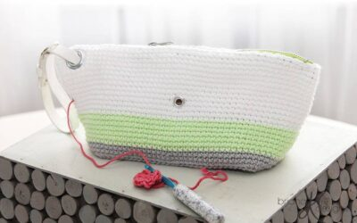 Clutch Wristlet Project Bag Purse