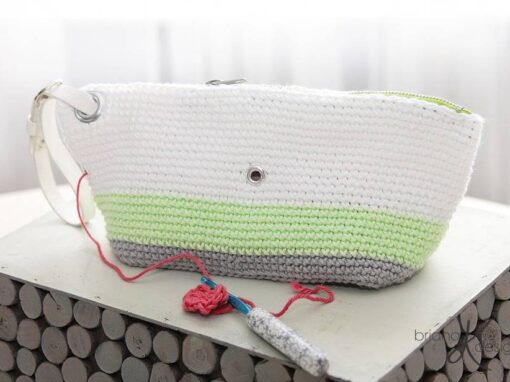 Clutch Wristlet Project Bag Purse
