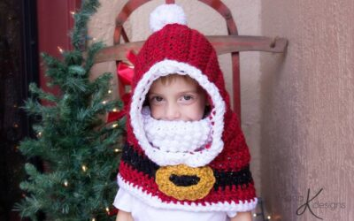 Santa Hooded Cowl