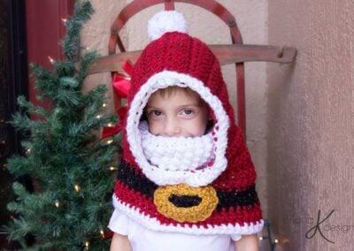 Santa Hooded Cowl