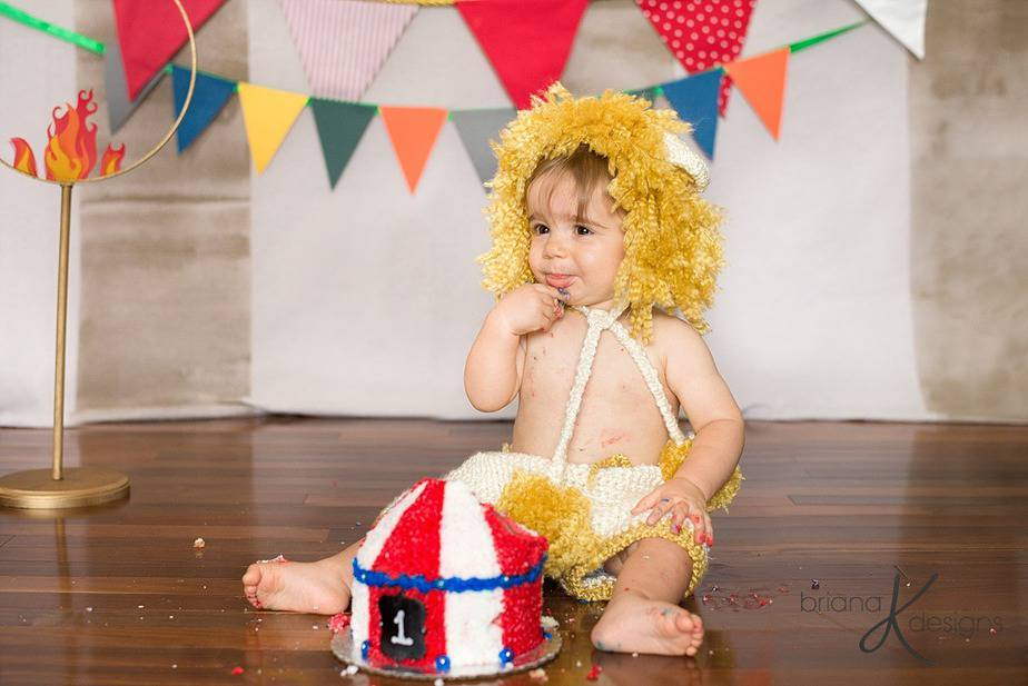 Lion Newborn to 12 Months Crochet Outfit by Briana K Designs