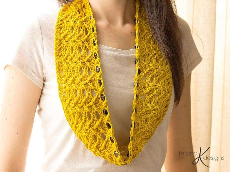 Jewel Crochet Cowl by Briana K Designs