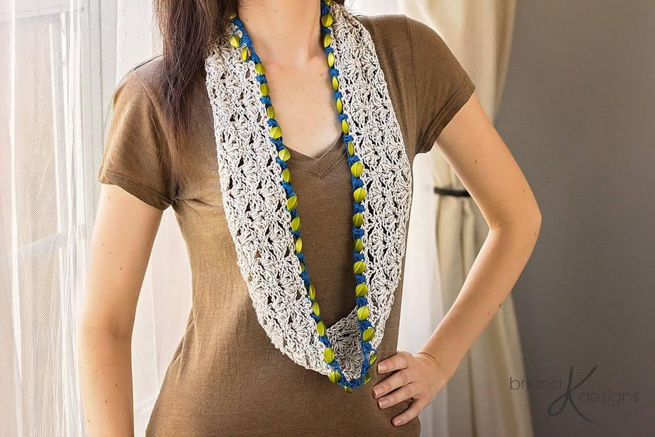 Jewel Crochet Cowl by Briana K Designs
