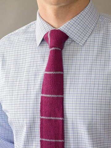 Kingston Knit Tie by Briana K Designs