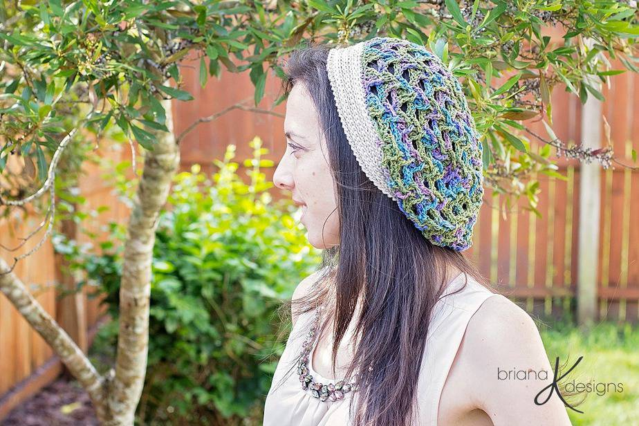 Marseille Crochet Slouchy by Briana K Designs