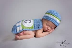 Superhero Baby Hat and Cape by Briana K Designs