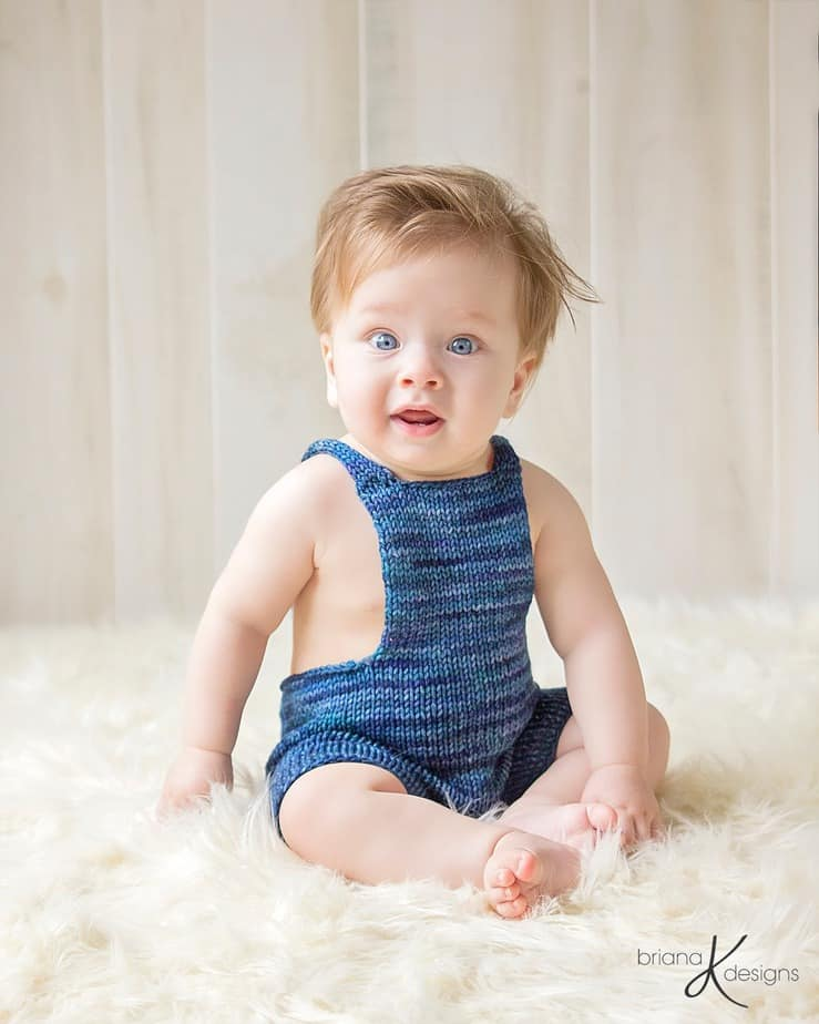 Knit Overalls by Briana K Designs