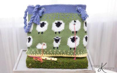 Sheep Lamb Project Bag
