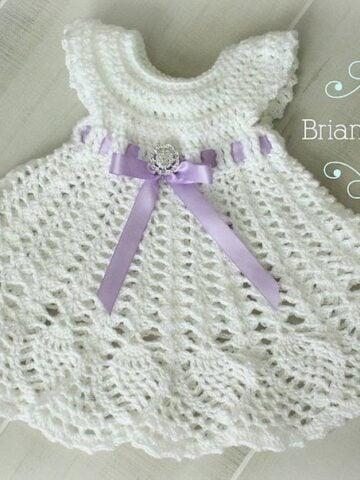 Sophia Crochet Heirloom Dress by Briana K Designs